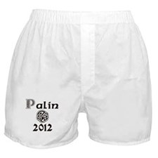 Palin 2012 Celtic Boxer Shorts