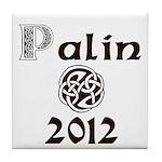 Palin 2012 Celtic Tile Coaster