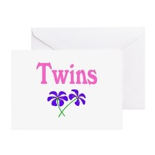 Twins Greeting Card