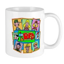 RFD characters Mugs