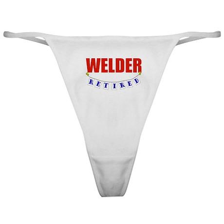 Retired Welder Classic Thong
