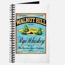 Whiskey Label Journal
