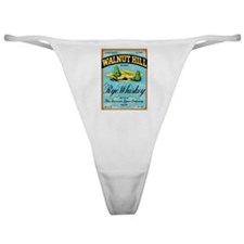 Whiskey Label Classic Thong