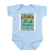 Whiskey Label Infant Creeper