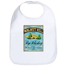 Whiskey Label Bib