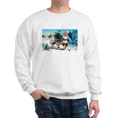 Christmas Tree Children (Front) Sweatshirt