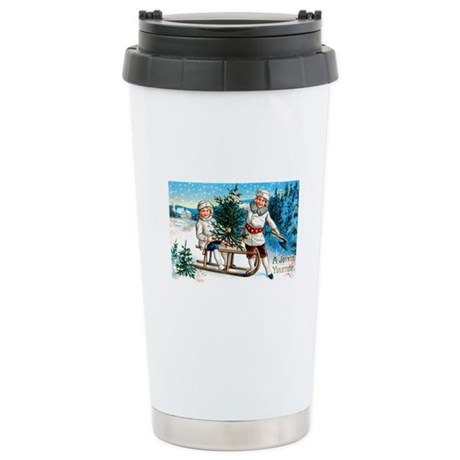 Christmas Tree Children Stainless Steel Travel Mug