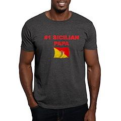 #1 Sicilian Papa T-Shirt