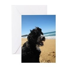 Portuguese Water Dog Greeting Card