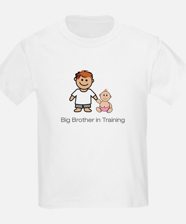 """""""Big Brother in Training"""" Kids T-Shirt"""