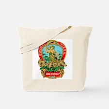 Cognac Label Tote Bag
