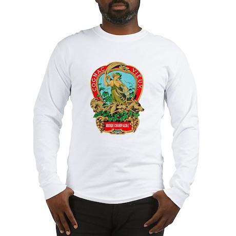 Cognac Label Long Sleeve T-Shirt