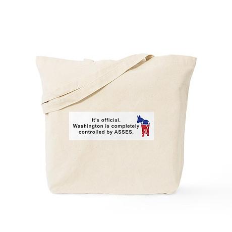 Washington Asses Tote Bag