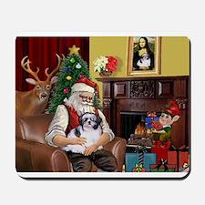 Santa's Shih Tzu (#1) Mousepad