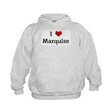 I Love Marquise Hoodie