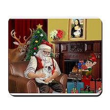 Santa's French BD (1) Mousepad