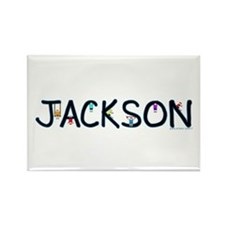Jackson (Boy) Rectangle Magnet