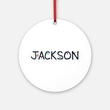 Jackson (Boy) Ornament (Round)