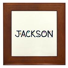Jackson (Boy) Framed Tile