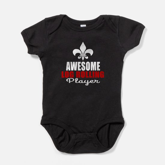 Awesome Log Rolling Player Baby Bodysuit