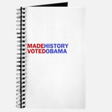 I Made History I Voted Obama Journal