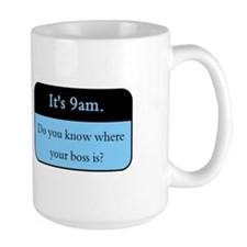 Where's your boss? Mug