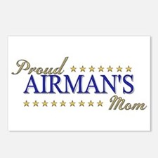 Airman's Mom Postcards (Package of 8)