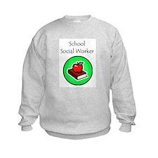 School Social Worker Sweatshirt