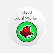 "School Social Worker 3.5"" Button (100 pack)"