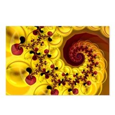"""Esperanza"" Fractal Art Postcards (Package of 8)"