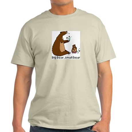 Big Bear, Small Bear Ash Grey T-Shirt