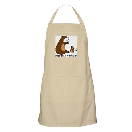 Big Bear, Small Bear BBQ Apron