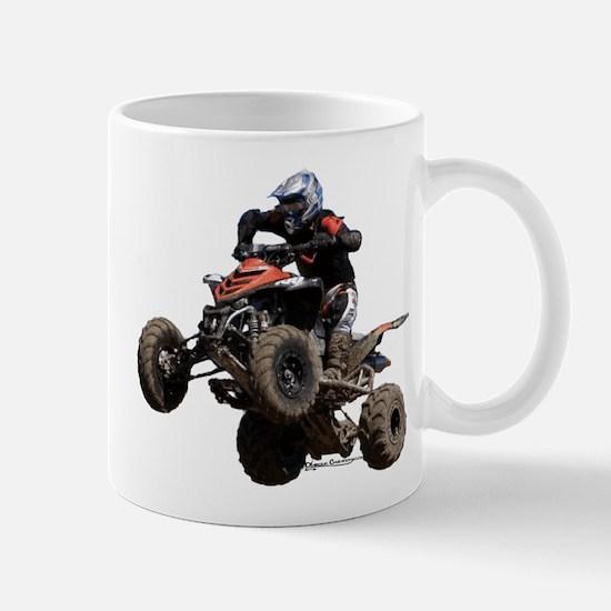 Orange Quad Mug