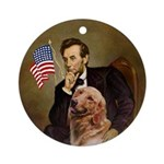 Lincoln & his Golden Keepsake (Round)