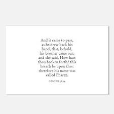 GENESIS  38:29 Postcards (Package of 8)