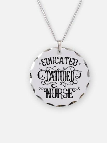 Tattooed Nurse Necklace