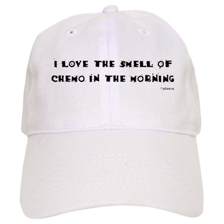 Love the Smell of Chemo Cap