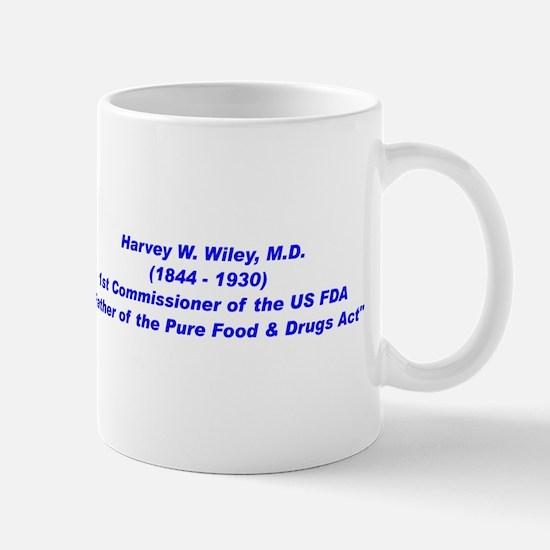 Harvey Wiley FDA Mug
