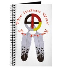 Indian Way to Pray Journal