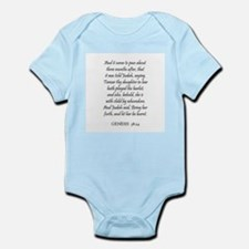 GENESIS  38:24 Infant Creeper