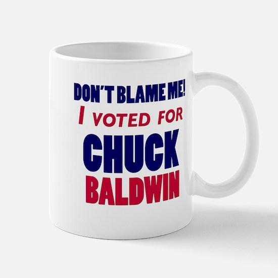 I Voted Chuck Baldwin Mug