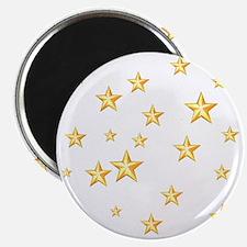 """GOLD STARS 2.25"""" Magnet (10 pack)"""