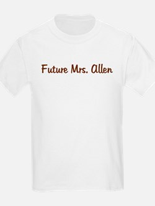 Future Mrs. Allen T-Shirt