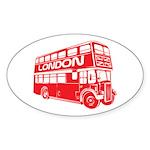 London Transit Oval Sticker (10 pk)