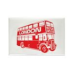 London Transit Rectangle Magnet