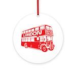 London Transit Ornament (Round)