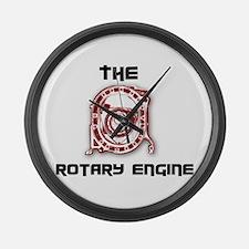 Cute Engine Large Wall Clock