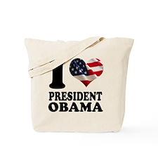 I love President Obama Tote Bag