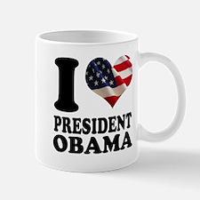 I love President Obama Mug