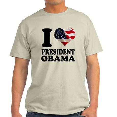 I love President Obama Light T-Shirt